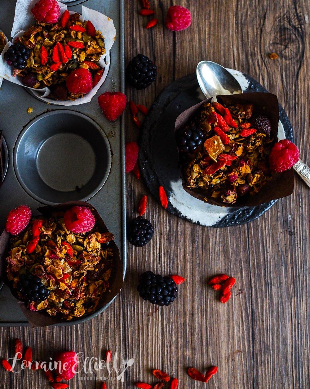 Healthy Muesli Muffins