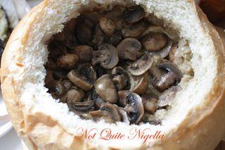 Muffuletta - stuffed Picnic loaf