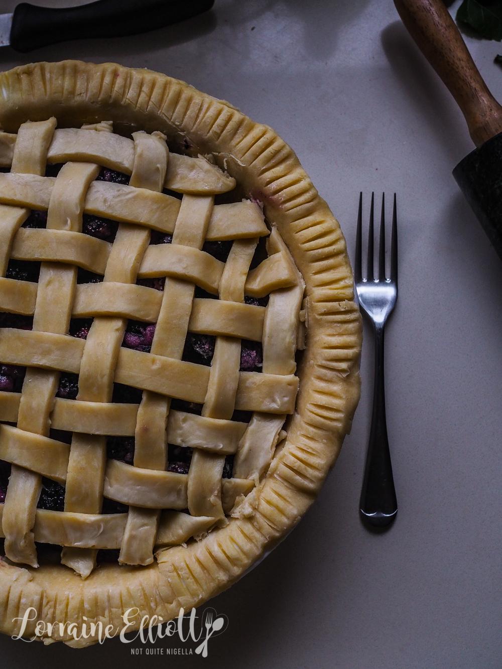 Mulberry Pie Recipe pinot noir sauce