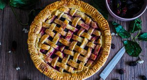A Berry Special Mulberry & Pinot Noir Pie!