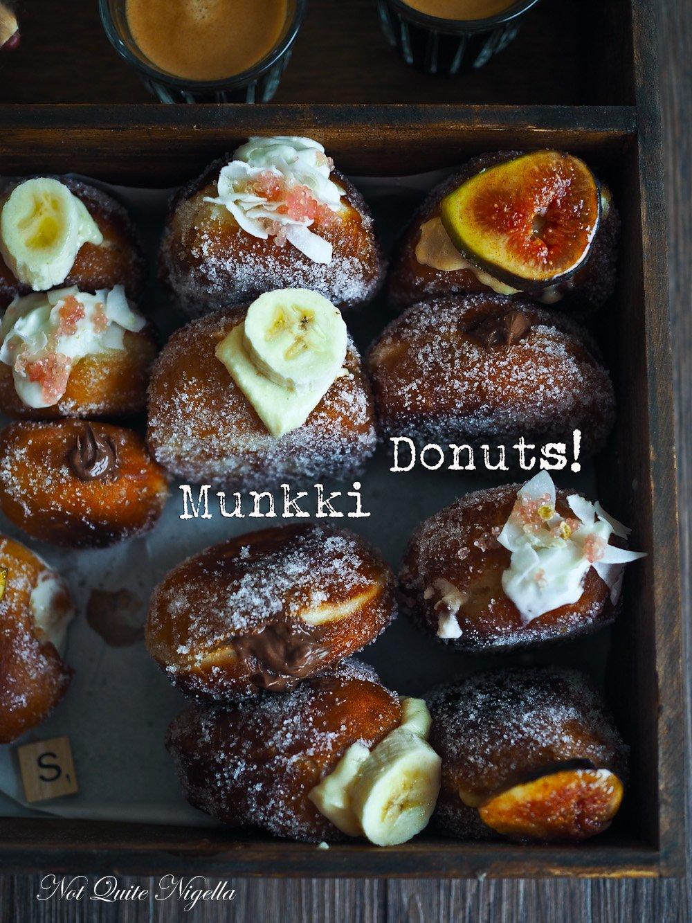 Munkki Bombolini Donut Recipe