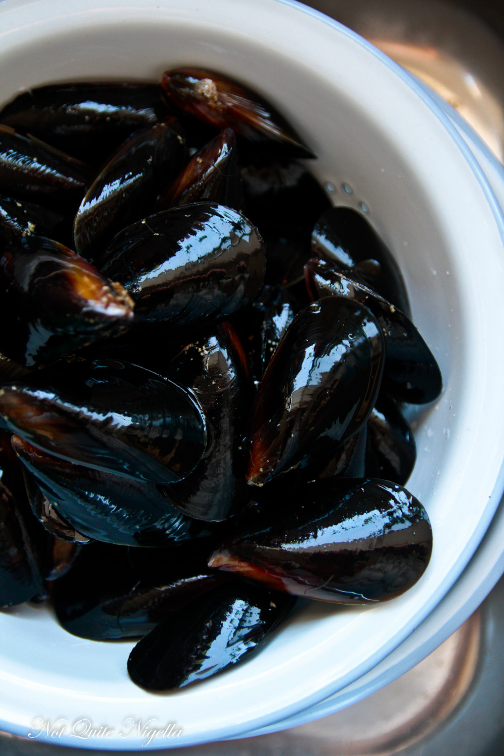 Mussels with Chilli Coconut Cream