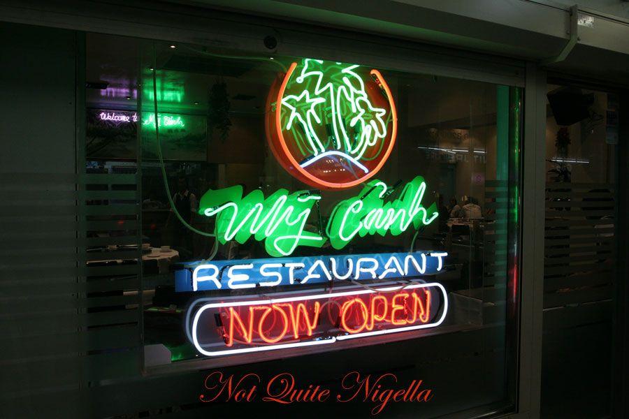My Canh Vietnamese restaurant at Bankstown