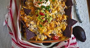 Two In One Meal: Nachos Mac 'N Cheese!