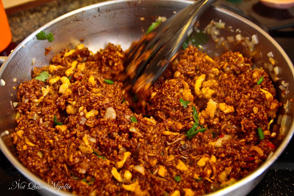 nasi goreng authentic not quite nigella