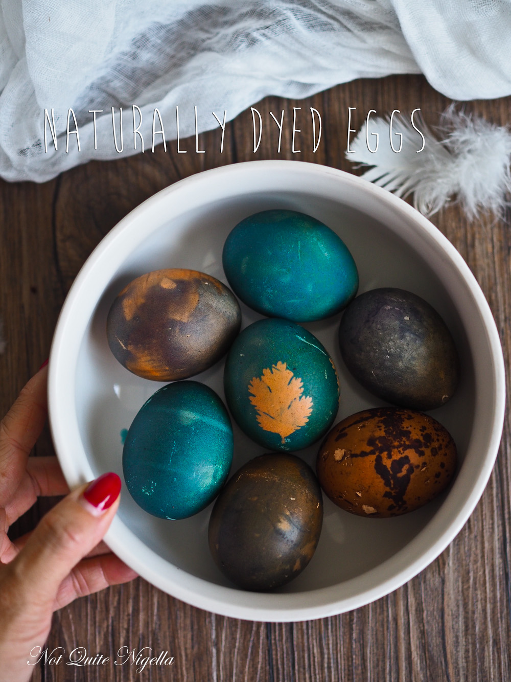 Naturally Coloured Easter Egg Tutorial Not Quite Nigella