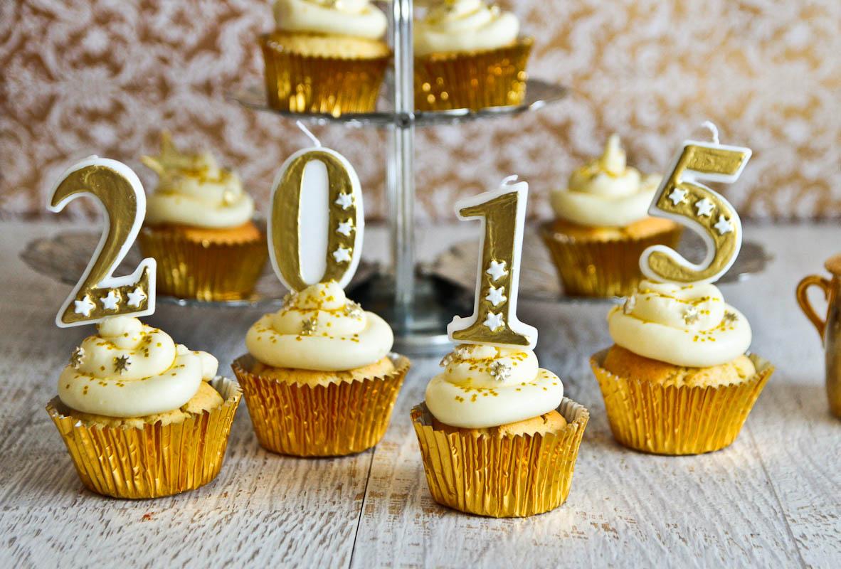 New Years Cupcakes @ Not Quite Nigella