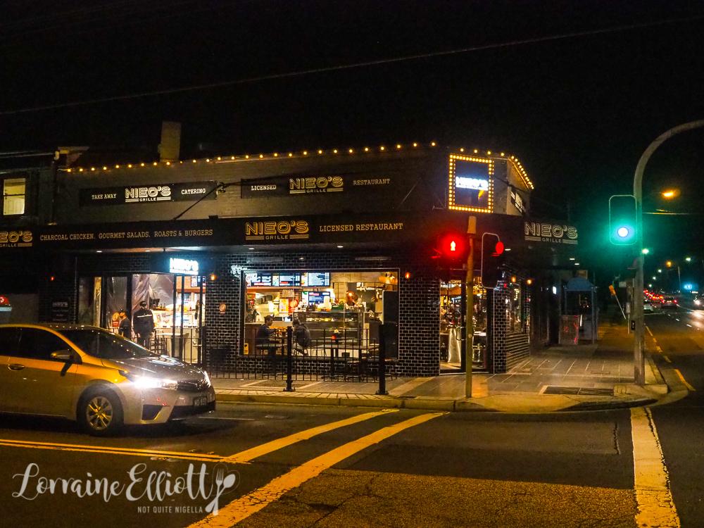 Nieo's Grille, Earlwood
