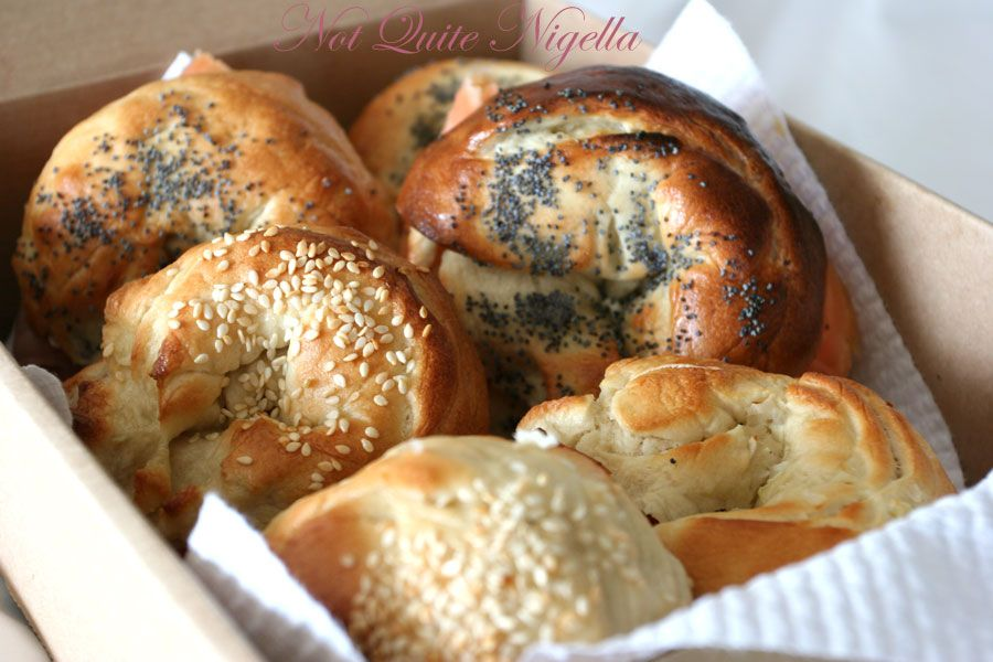 Bagels by Nigella Lawson from How to be a Domestic Goddess