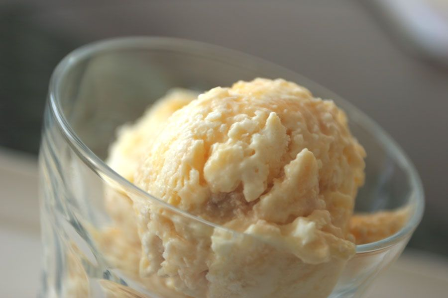 Nigella's Lemon Meringue Ice Cream