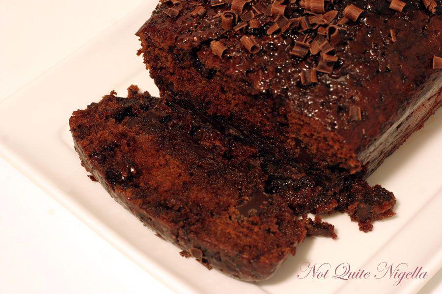 Quadruple…I mean Quintuple chocolate cake sliced