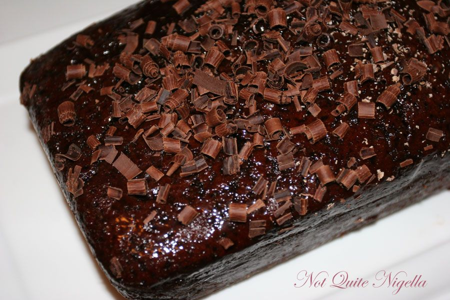 Quadruple…I mean Quintuple chocolate cake