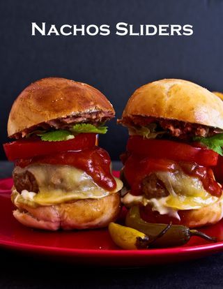 Nine Layer Nachos Sliders!