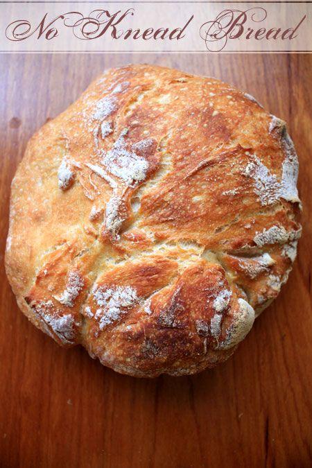 no knead bread 1