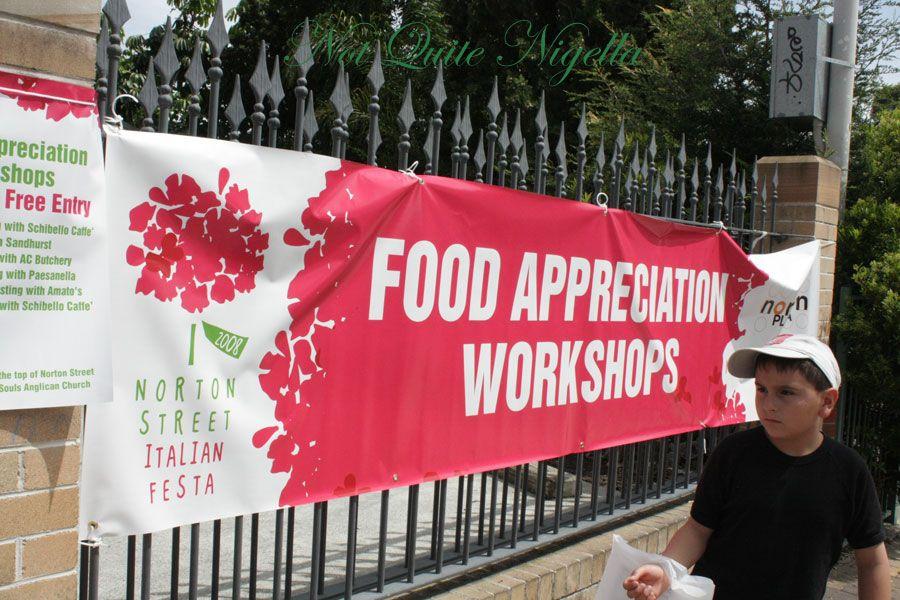 Italian Food Festival Leichhardt