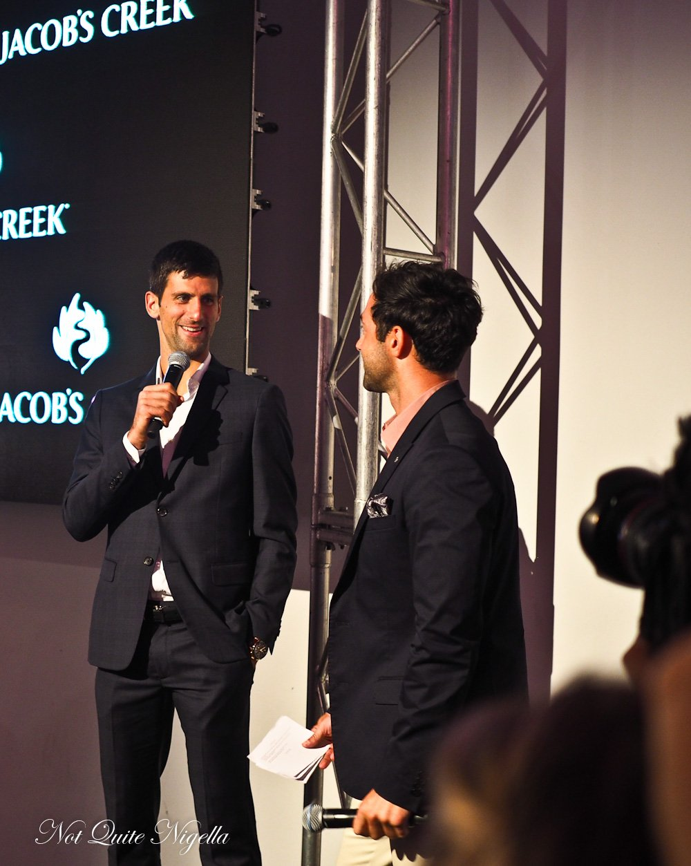 Novak Djokovic Interview Food