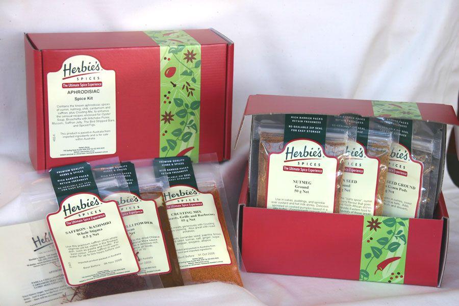Herbies Aphrodisiac Spice Kit