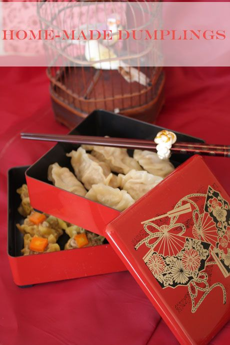 Home made dumplings