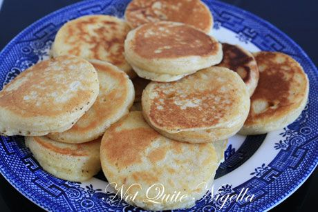 pikelets cooked