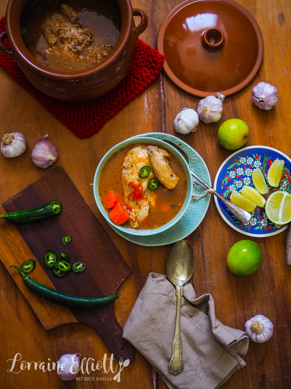 Oaxacan Chicken Soup