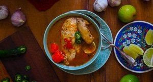 Chicken Soup For The Soul - Oaxacan Chicken Soup