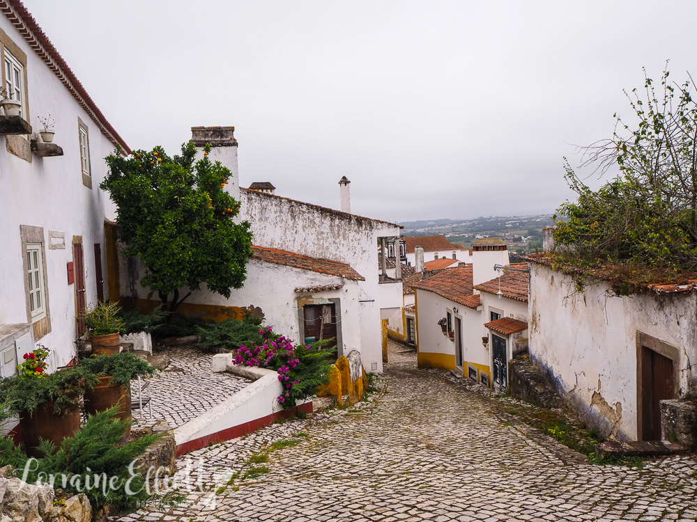 Obidos, Nazare and Coimbra, Portugal