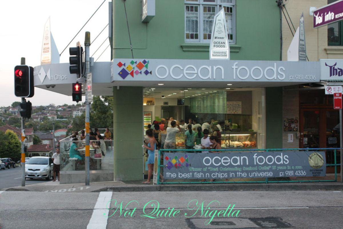 Ocean Foods Drummoyne Review