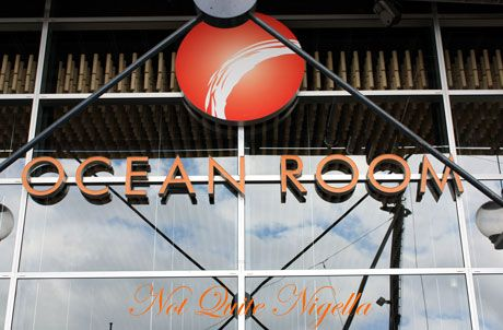 ocean room circular quay sign