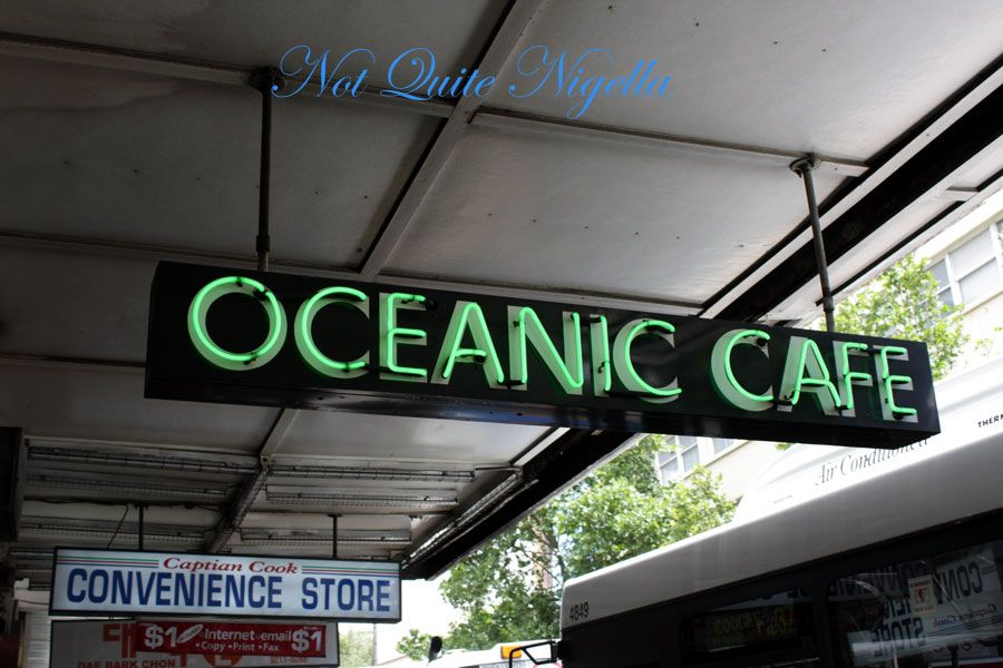 Oceanic Cafe, Surry Hills, Sydney