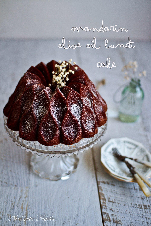 Olive Oil cake recipe Bundt