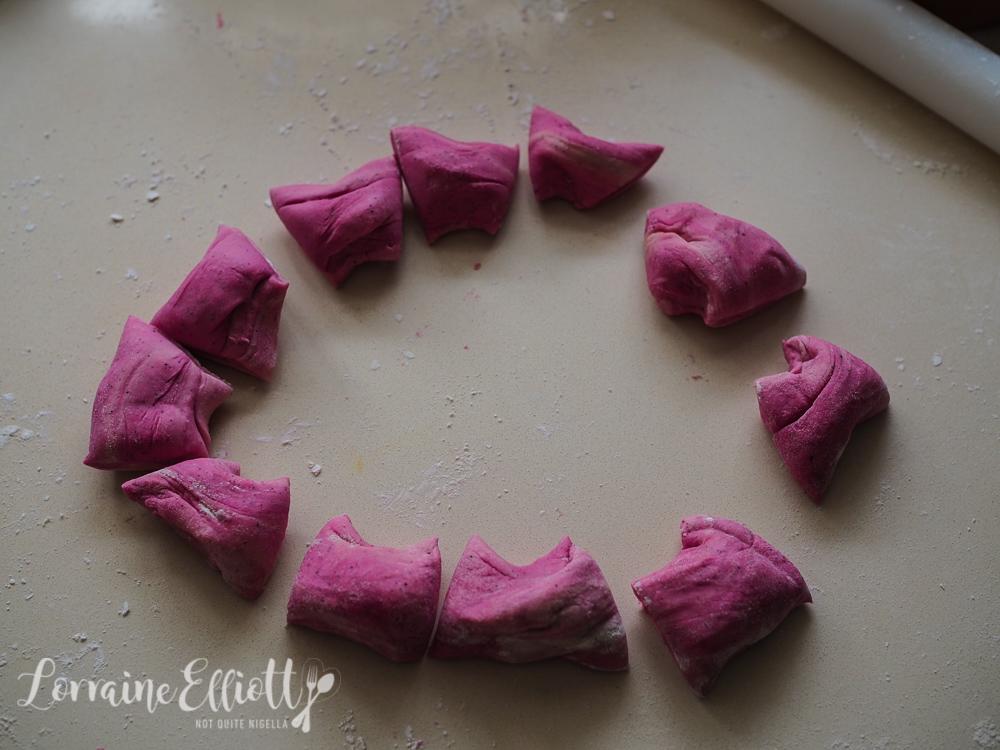 Ombre Pink Dumplings