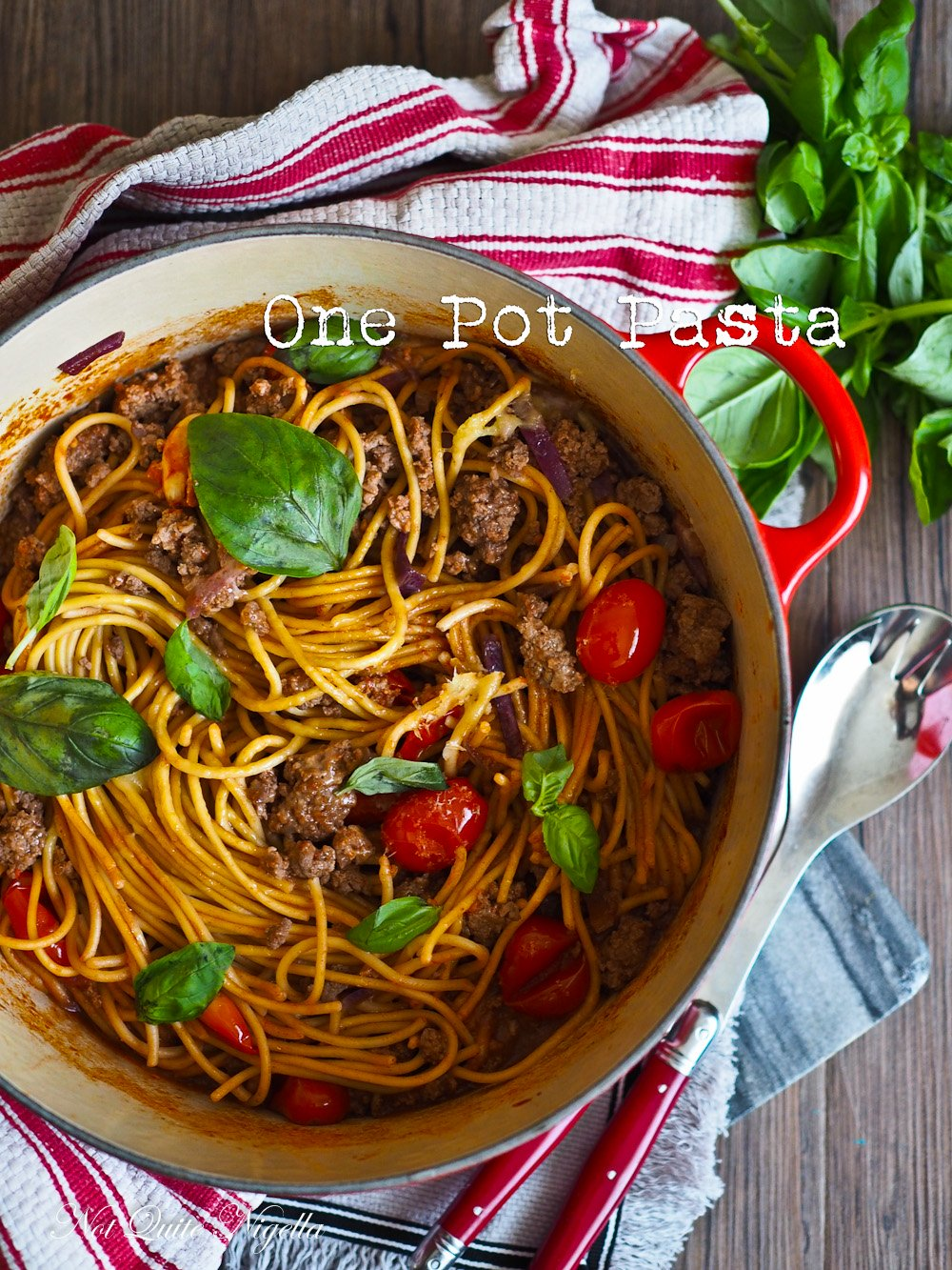 Now This One Pot Pasta Is The Definition Of Simple Just One Pot To Do Everything And A Very Simple Method You Could Even Make A Vegetarian Version Of This