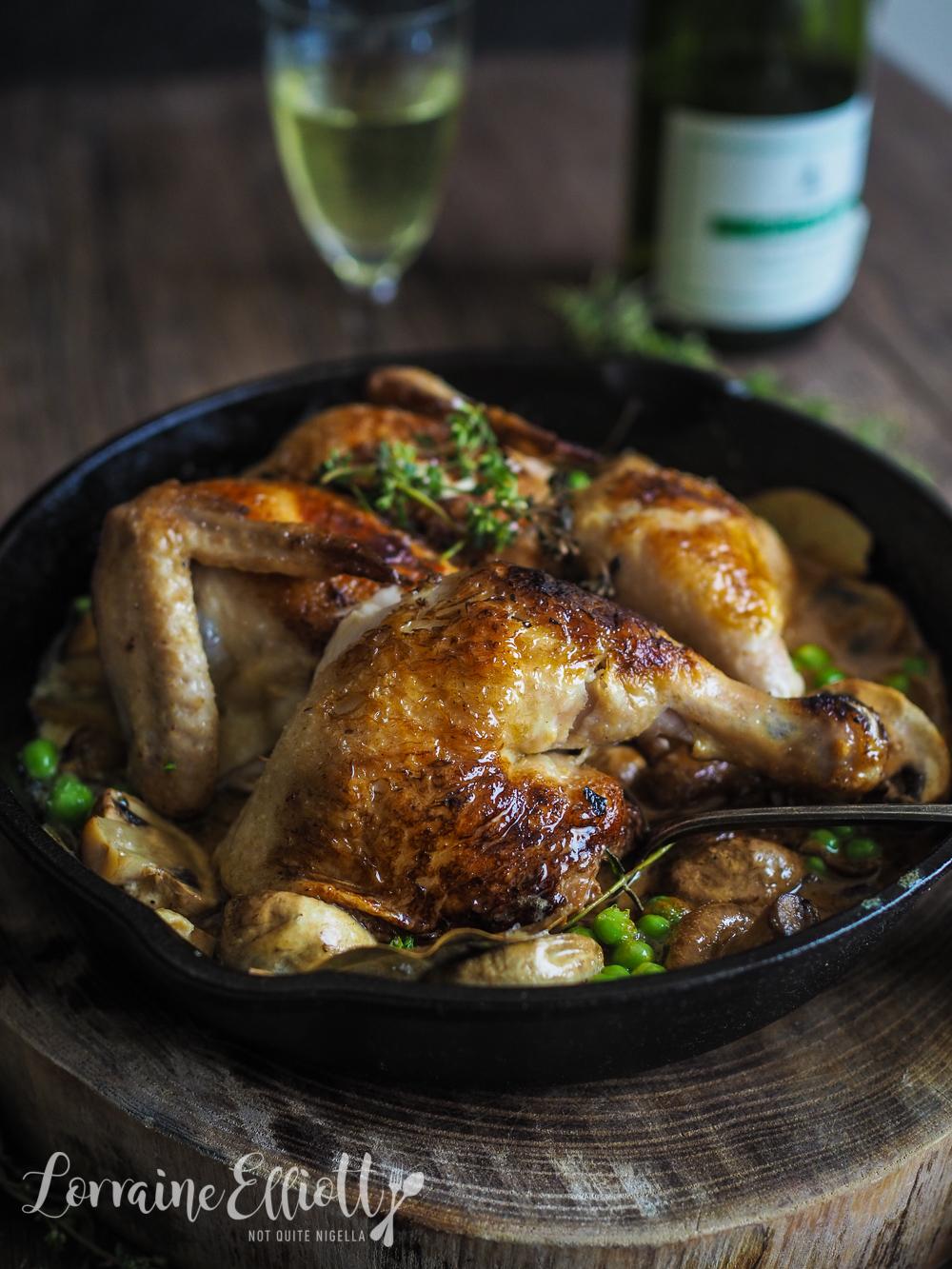 One Skillet Chicken