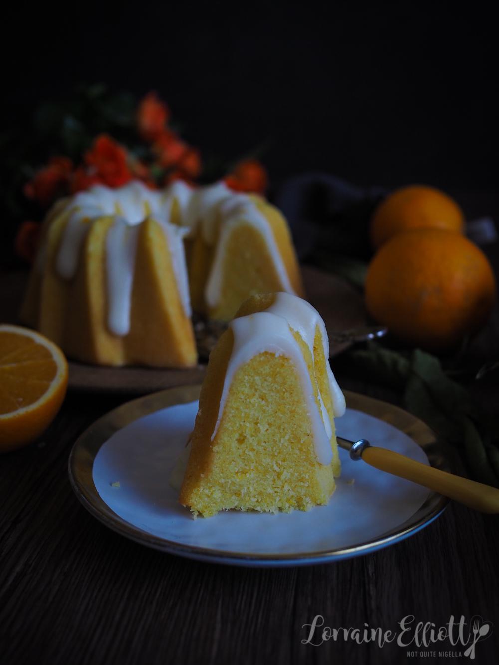 Ciambella Orange Citrus Cake