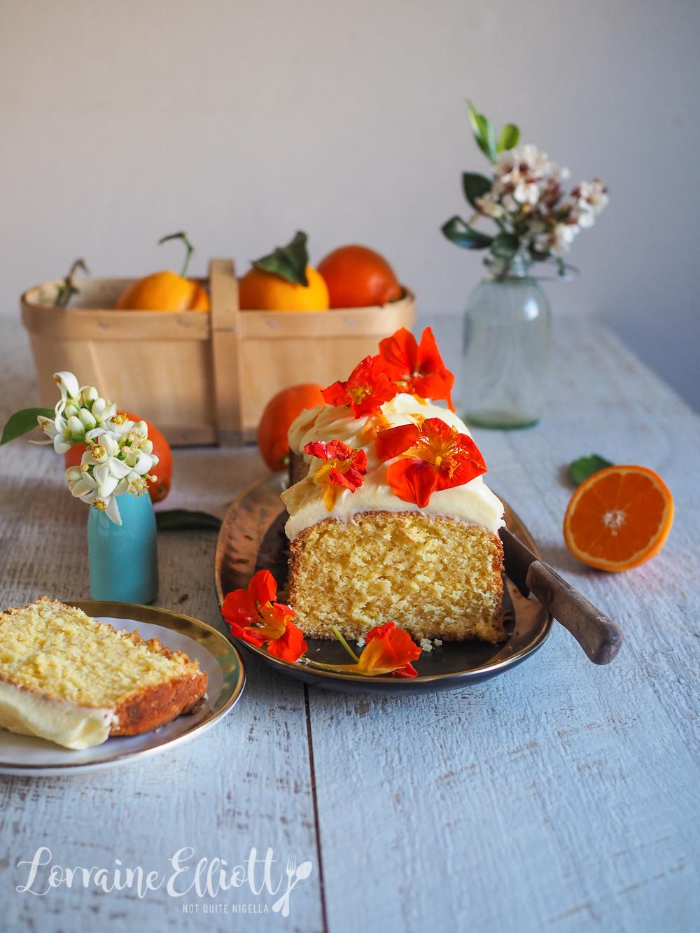 Orange & Coconut Syrup Cake