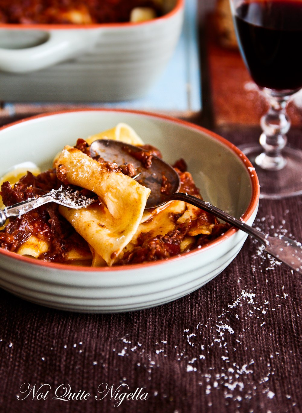 Oxtail Ragu Pappardelle