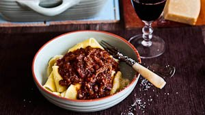 Rich Oxtail Ragu with Pappardelle