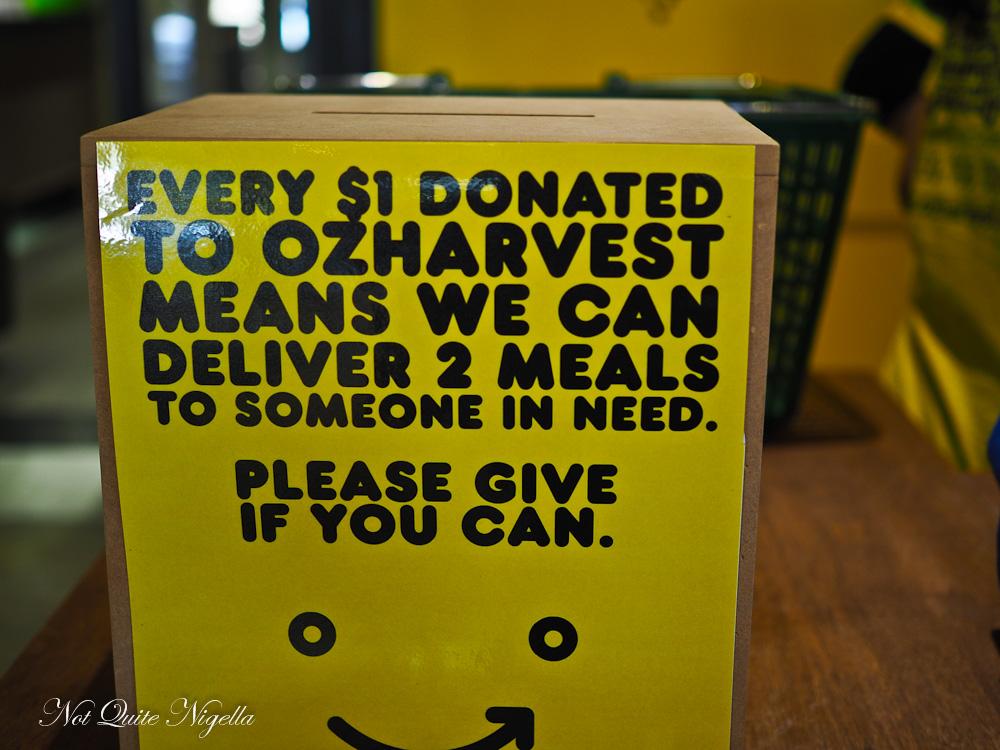OzHarvest supermarket
