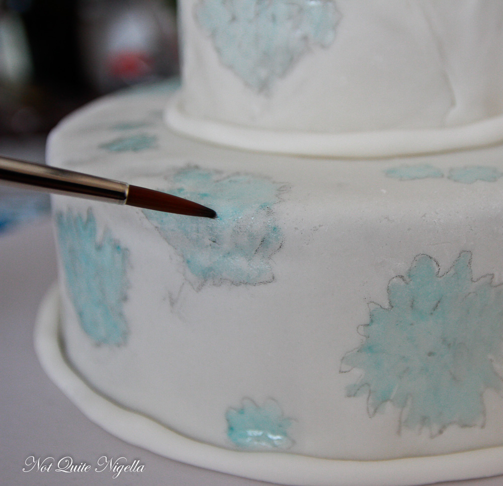 Painted Cake Tutorial