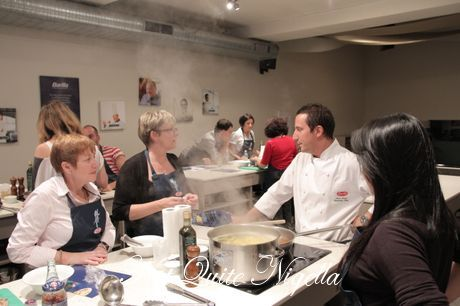 barilla cooking class goat ragu pappardelle
