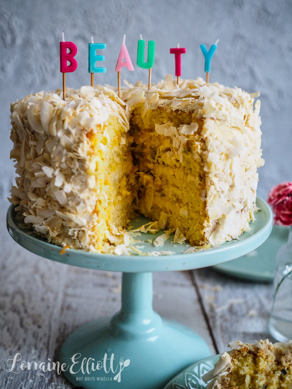 Passion Fruit & Coconut Layer Cake
