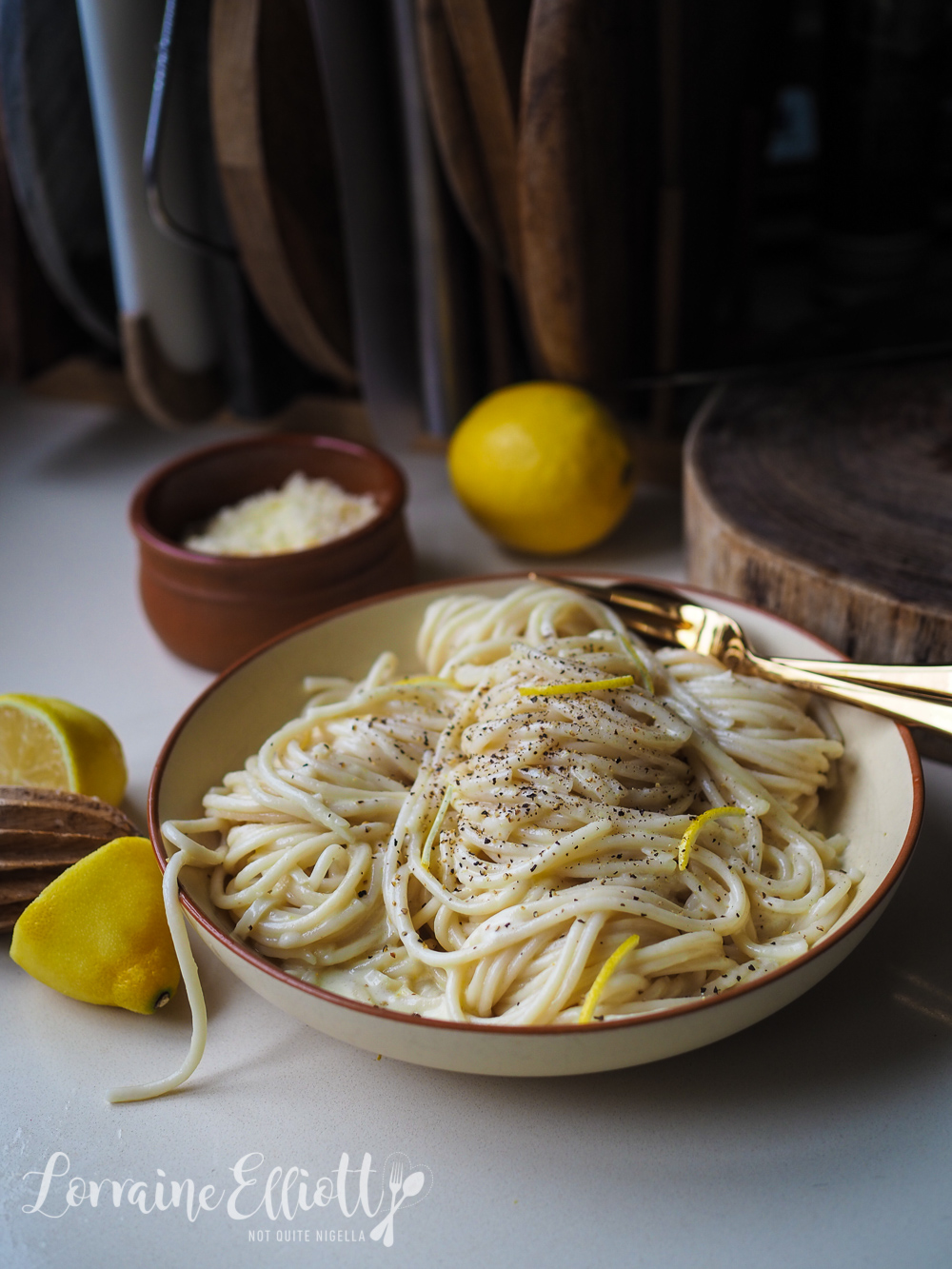 Pasta Al Limone Creamy Lemon Pasta