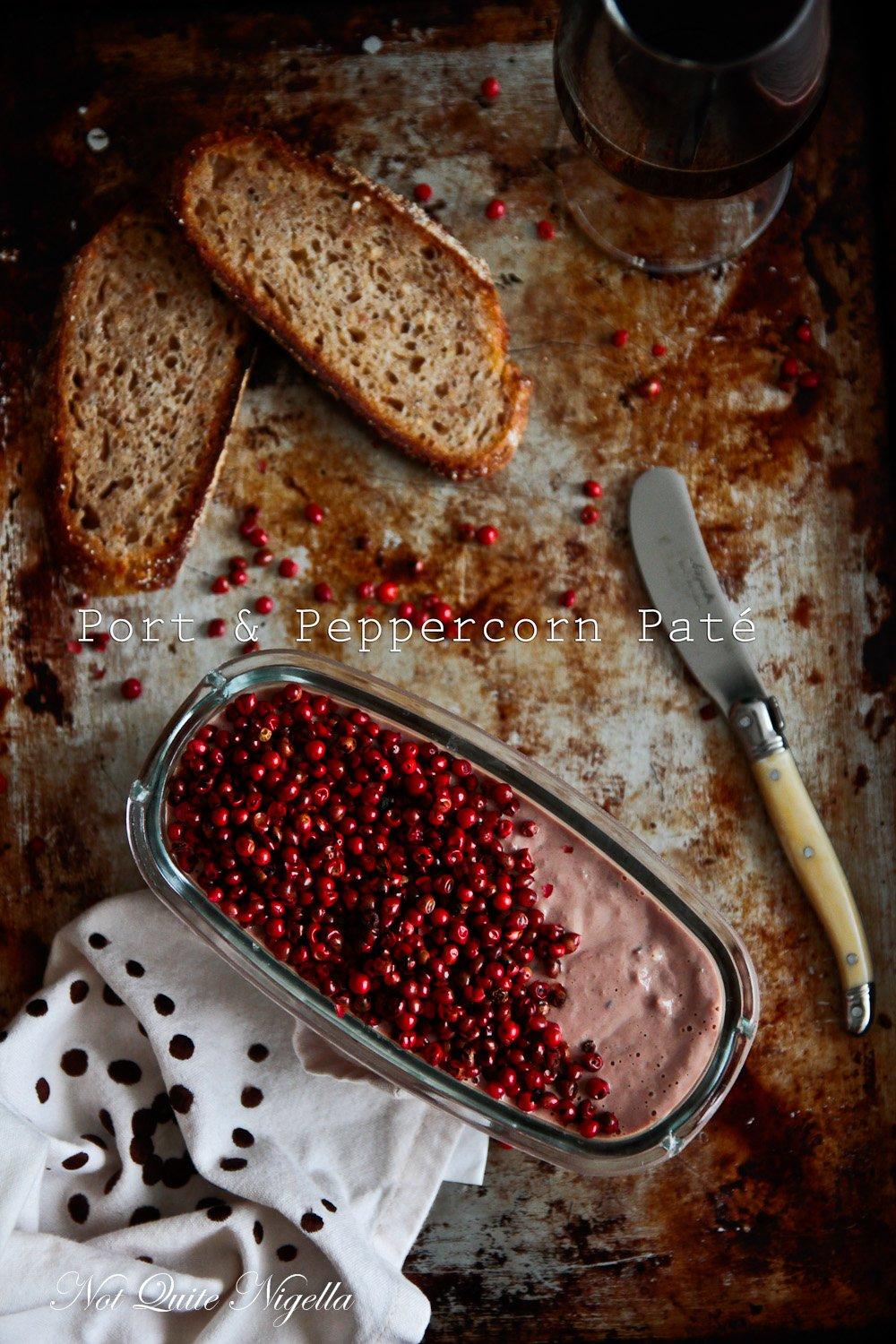 Port And Peppercorn Pate