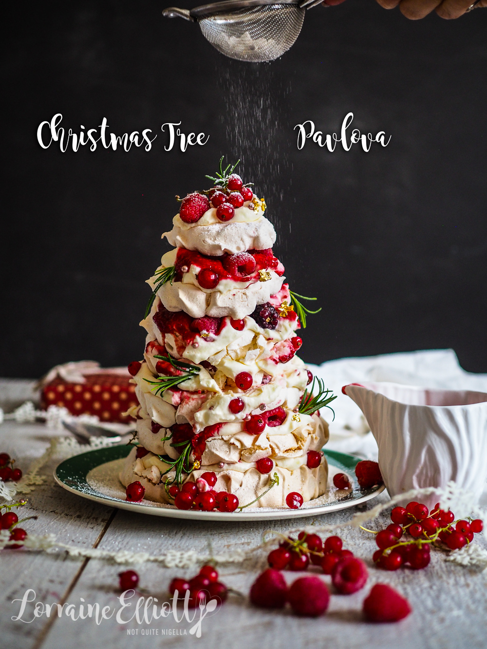 Christmas Tree Pavlova