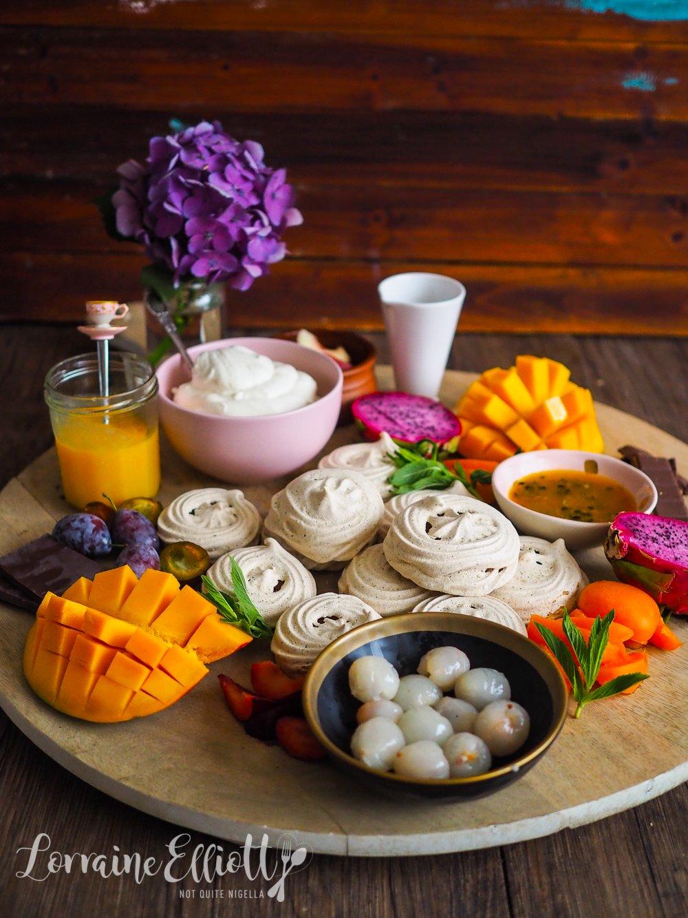 Pavlova Grazing Platter