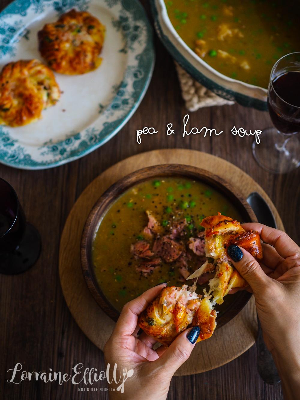 Double Pea & Ham Soup