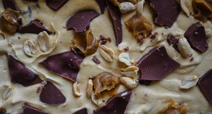 Chunky Hunky Peanut Butter & Chunky Chocolate Chip Ice Cream!