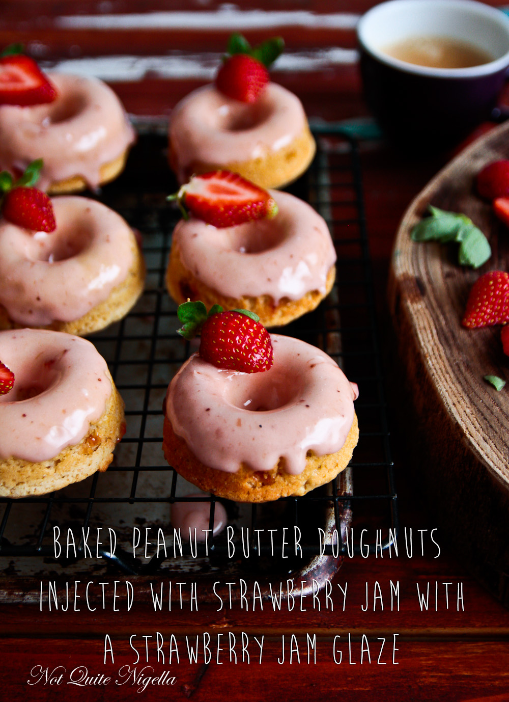 Peanut Butter Jam Donuts