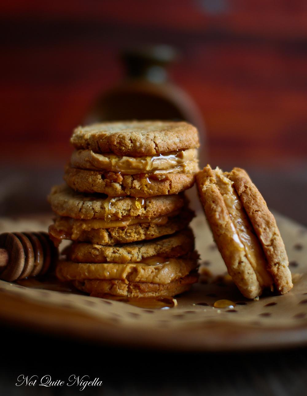 Peanut Butter Sandwich Cookies Nora Ephron Dahlia Bakery