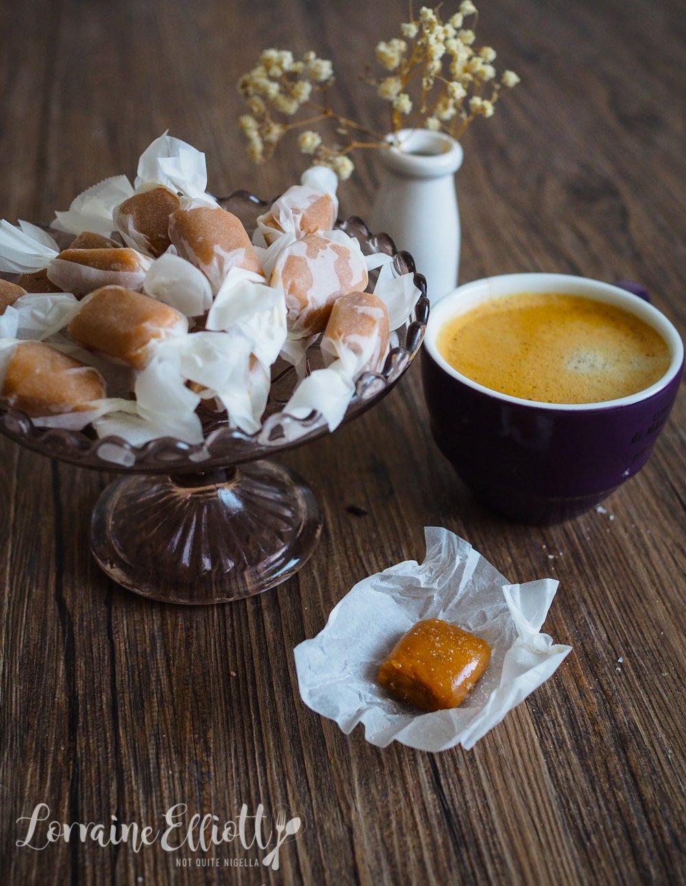 Peanut Butter Salted Caramels